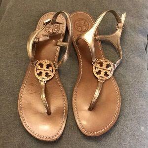 Tory Burch Rhinestone Thong Sandals